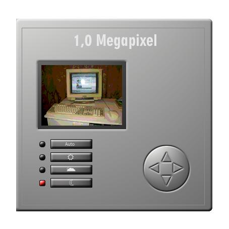 1,0 Megapixeles digitálom fényképezőgép