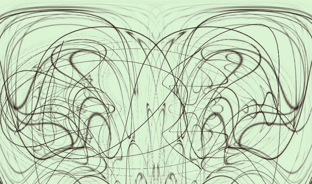 Térgörbék 02 (Térgörbe 10 pozitiv és 10 negativ variációval)