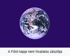 A Föld napja nem hivatalos zászlója